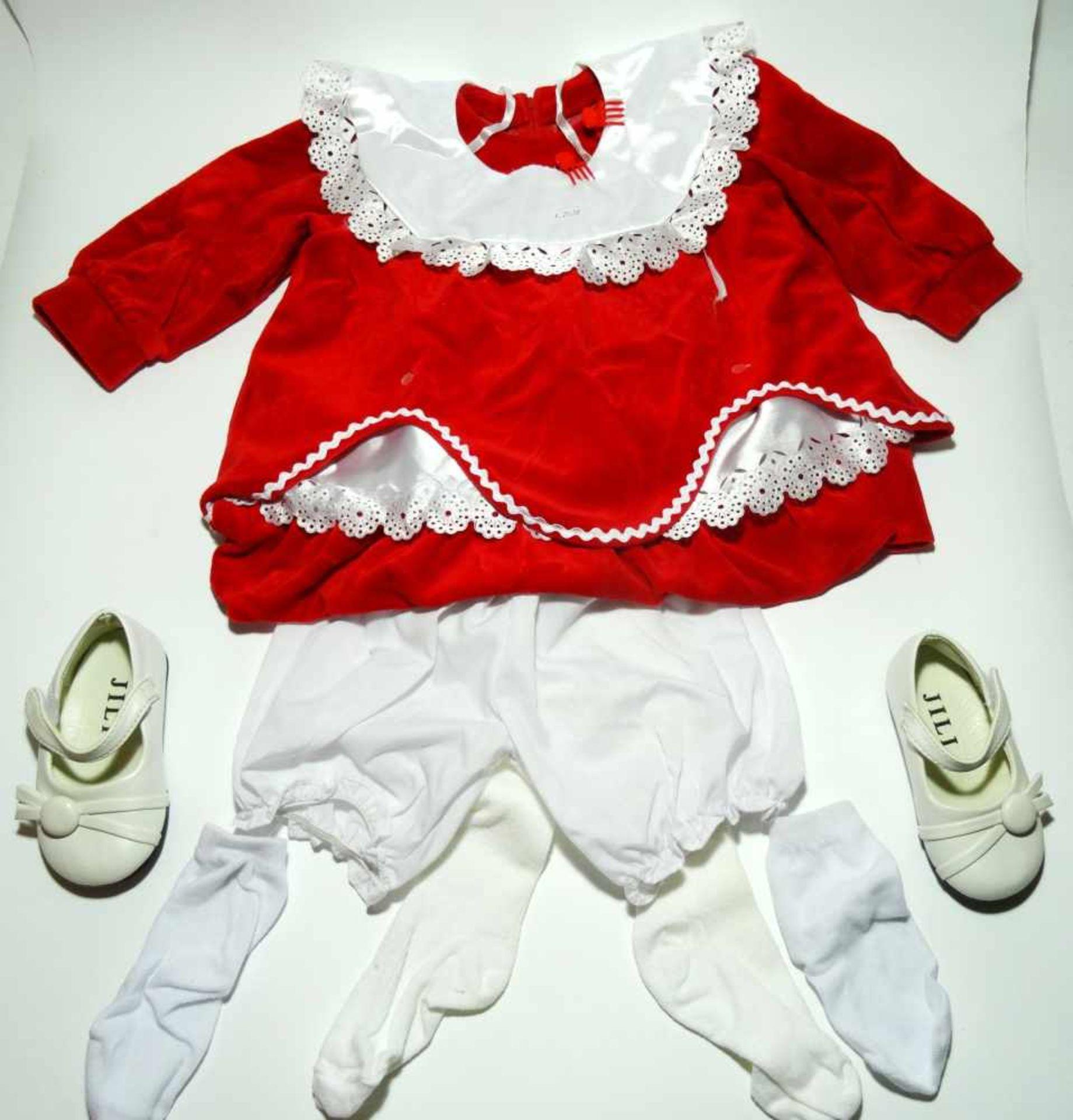 Sammlerpuppe ltd. Edition - Nina- in Freizeitbekleidung mit kleiner Puppe, Artist Doll Linda - Bild 3 aus 5