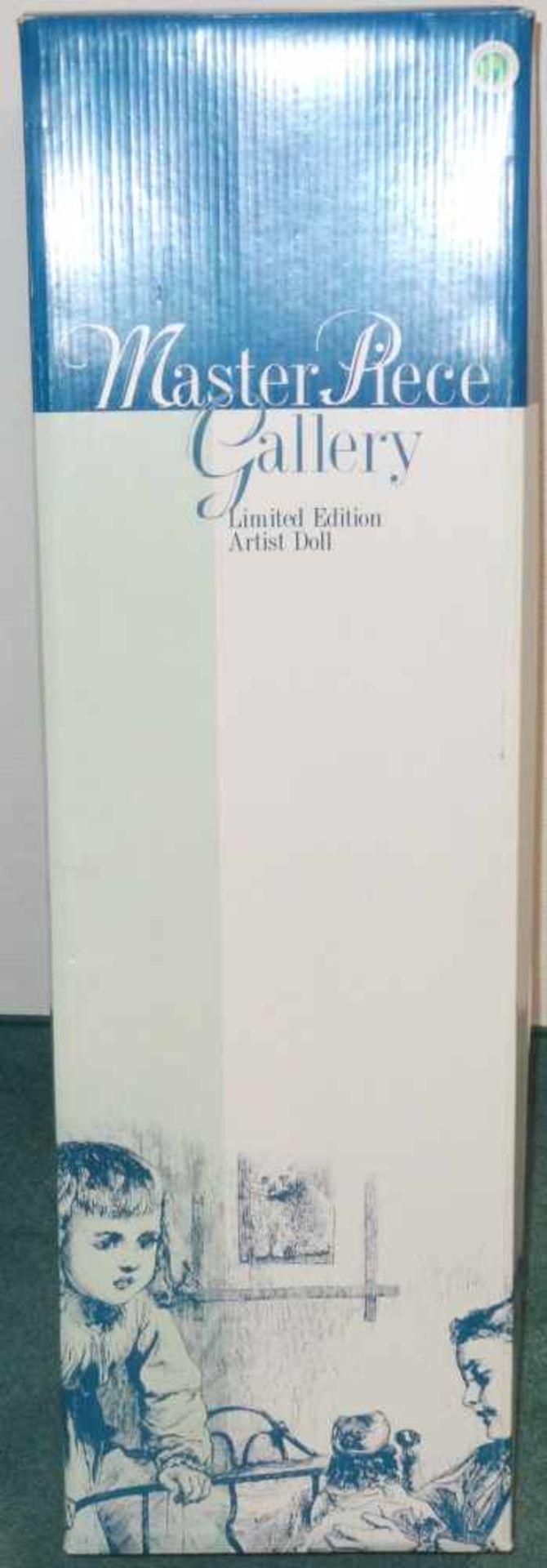 Sammlerpuppe ltd. Edition - Oliver - in Freizeitbekleidung, Artist Doll Linda Valentino-Michel, Höhe - Bild 2 aus 2
