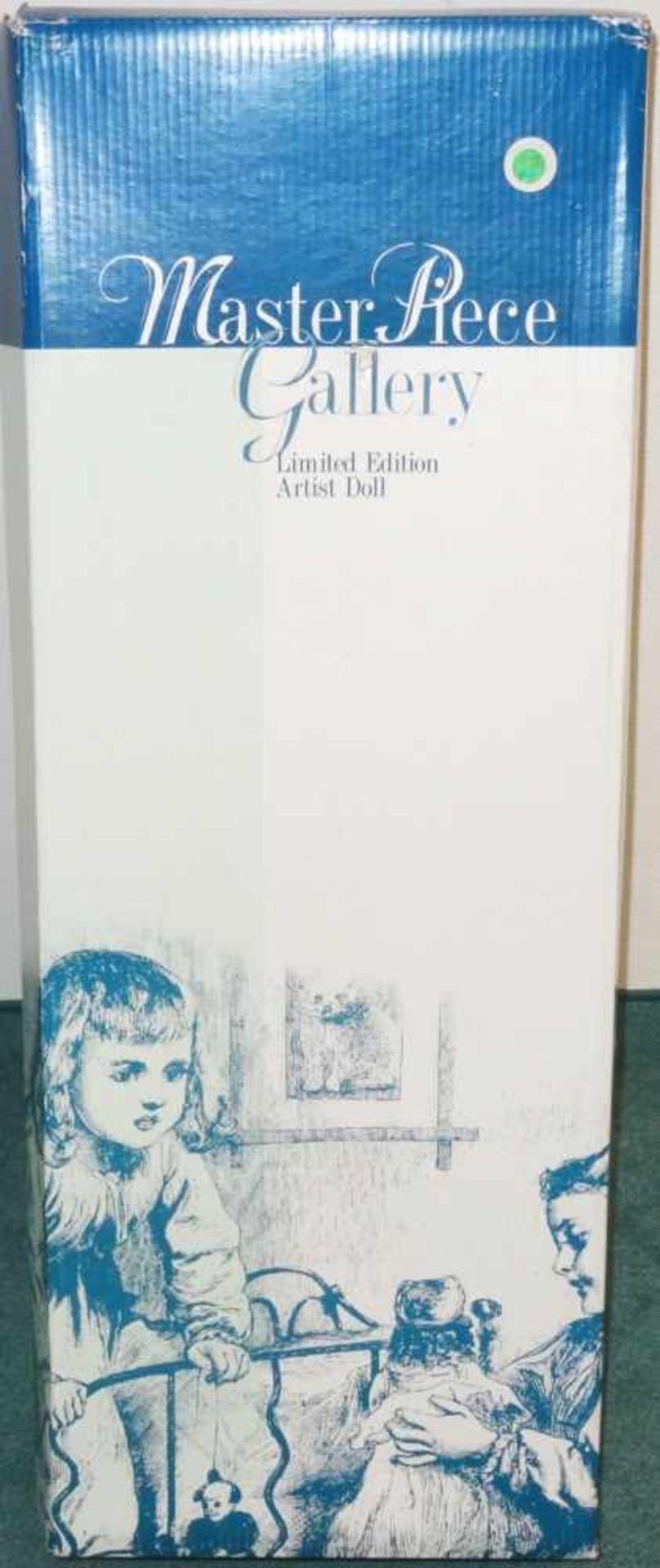 Sammlerpuppe ltd. Edition - Fabian - in Freizeitbekleidung, Artist Doll Linda Valentino-Michel, Höhe - Bild 2 aus 5