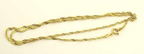 Singapur Kette 585 Gold Stärke 1,8mm, Länge ca. 45cm, Gewicht ca. 2,5g
