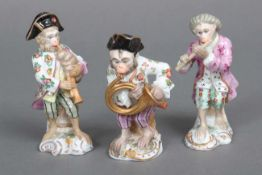 3 Porzellanfiguren aus der ¨Affenkapelle¨ unbekannte (wohl Thüringer) Manufaktur des frühen 20.