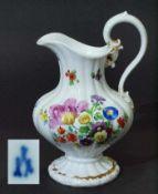 Milchkännchen über Stand, MEISSEN. Milchkännchen über Stand, MEISSEN, Marke 1824 - 1850, 1. Wahl.