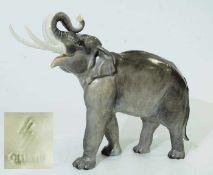 Größte Elefanten-Tierplastik. ALLACH. Größte Elefanten-Tierplastik. ALLACH. Entwurf Theodor