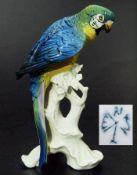 Papagei polychrom bemalt. Papagei polychrom bemalt. ENS, Rudolstadt/Thüringen. Modell Nr. 1606.