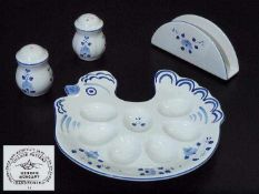 Vier Teile. Village Pottery HEREND/ Ungarn. Vier Teile. Village Pottery HEREND/ Ungarn. 20.
