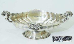 Dekorative Jardiniere. Dekorative Jardiniere. Ende19. Jahrhundert. 800er Silber, getrieben,