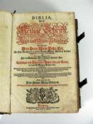 BIBLIA (1736) Die gantze Heilige Schrift des Alten und neuen Testaments wie solche von Herrn