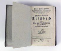 Medicinisches Tischbuch (18.Jh.) von Johann Friedrich Zückerts, Berlin bei August Mylius 1785; 3.