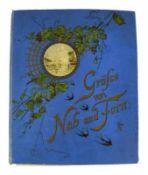Postkartenalbum (Ende 19.Jh. - Mitte 20.Jh.) mit 354 Karten, farbig und schwarz/weiß; Provenienz: