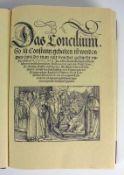 """Ulrich von Richenthal """"Das Concilium"""" zu Costentz; Nachdruck von 1936 vom Hendel Verlag zu"""
