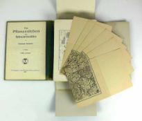 Pflanzenleben des Schwarzwaldes in Bilder und Karten sowie Textband; Friedrich Oltmanns; Freiburg