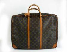 """Louis Viutton-Reisetasche """"Sirius 50""""; Monogramm Canvas; sehr guter, gebrauchter Zustand; Leder"""