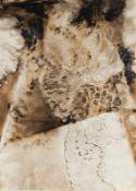 CHRISTIAN EISENBERGER (1978 SEMRIACH) RAUCHBILD, 2009 Mischtechnik auf Papier, im Ofen geräuchert,