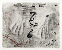 ANTONI TÁPIES (1923 BARCELONA - 2012 BARCELONA) o. T. Originallithografie auf Bütten,