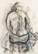 FERDINAND STRANSKY (1904 VIEHOFEN - 1981 KATZELSDORF/TULLN) o. T. Mischtechnik auf Papier, 42 x 30