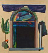 PETER ATANASOV (1949 PRESSBURG) o. T., 1978 Acryl auf Leinwand, 110 x 100 cm Signatur Rückseite: