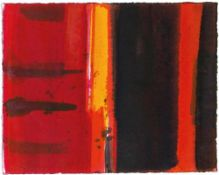 JOSEF WINKLER (1925 WIEN) o.T., 2003 Lavierte Tusche auf Bütten, 25,5 x 32 cm ungerahmt Signatur