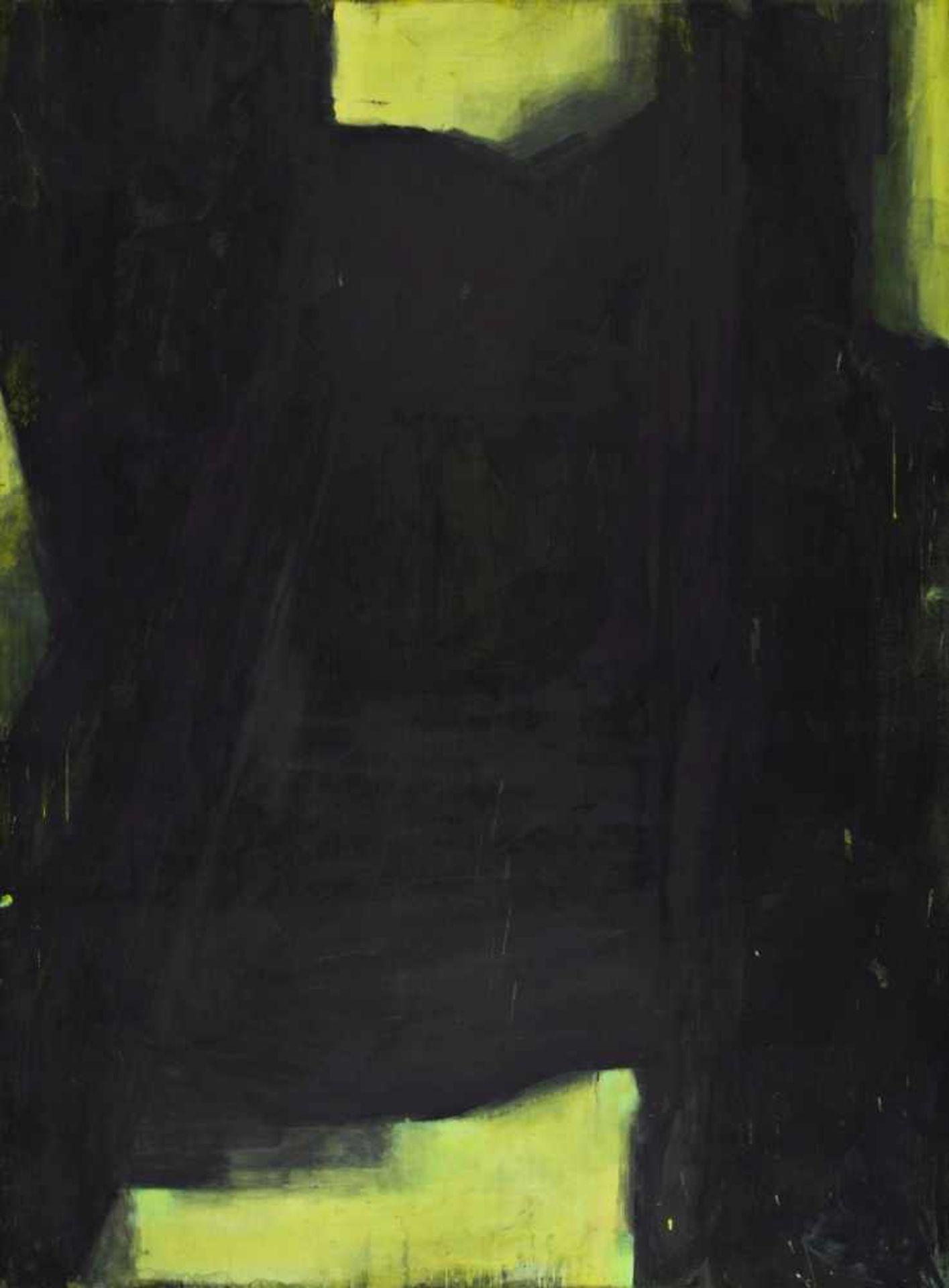 WALTER VOPAVA(1948 WIEN)o. T., 2000Dispersion auf Leinwand, 280 x 206 cmSignatur Rückseite rechts