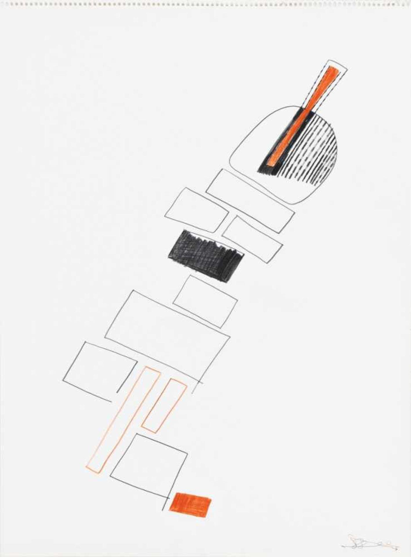 Los 13 - OSWALD OBERHUBER(1931 MERAN)Aus: EINE SAMMLUNG, 1988Mappenwerk 4/10 in zehn Exemplaren zum Buch (der