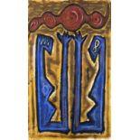 ERWIN BOHATSCH(1951 MÜRZZUSCHLAG)o. T., 1984Gouache auf festem Büttenpapier, 105 x 78,5 cmunverglast