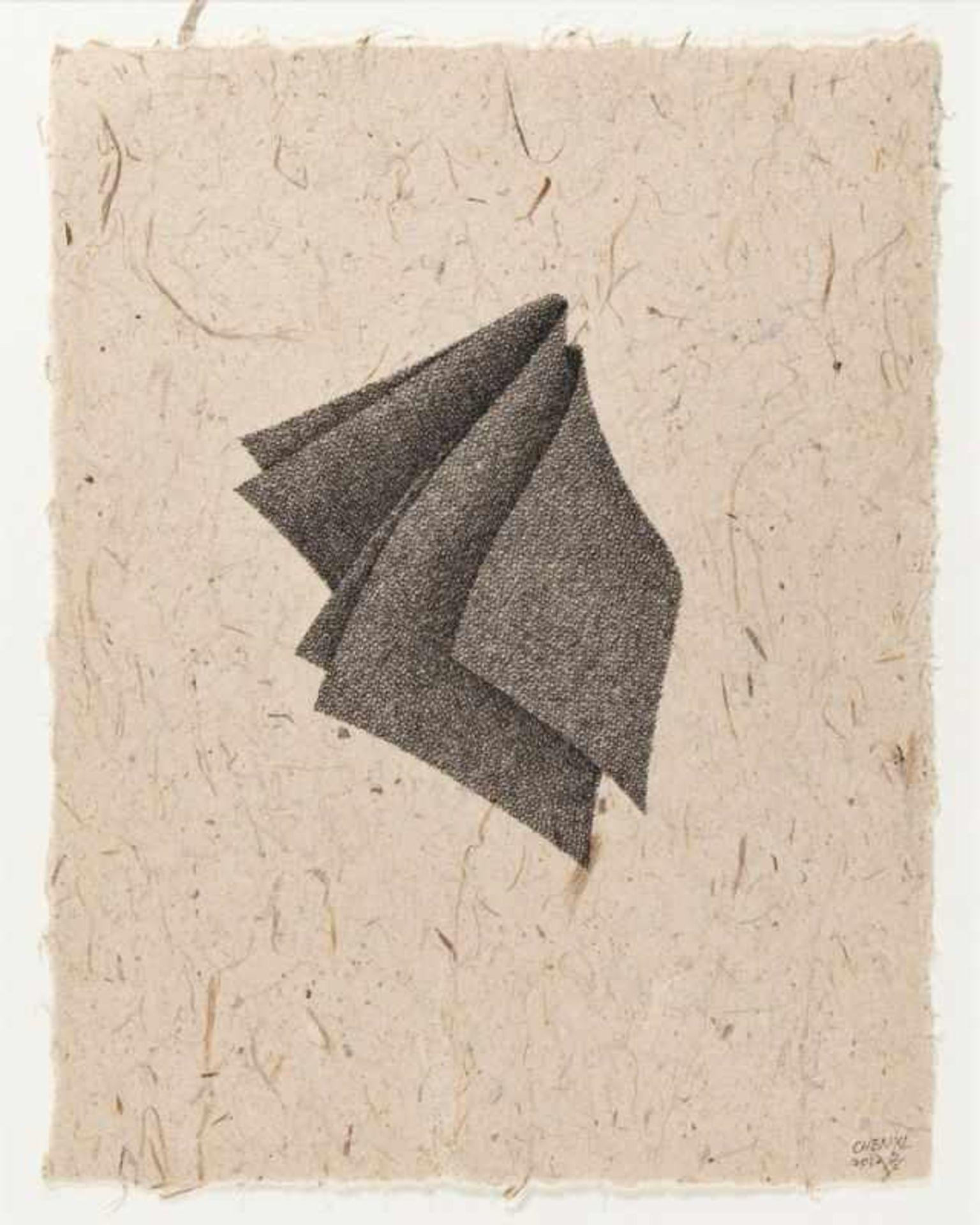 Los 3 - CHEN XI(1966 SHANGHAI)o. T., 2012Tusche auf handgeschöpftem Papier, 29 x 22,3 cmgerahmt, Maß mit