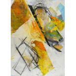 ROBERT ZIELASCO(1948 WIEN)o. T.Mischtechnik, Collage auf Leinwand, 150 x 110 cmSignatur vorne rechts