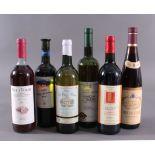 6 Flaschen Weißwein, Verschiedene Sorten1x 1990er Bianco di Custoza, Corte Sant´Arcadio.1x 1990er