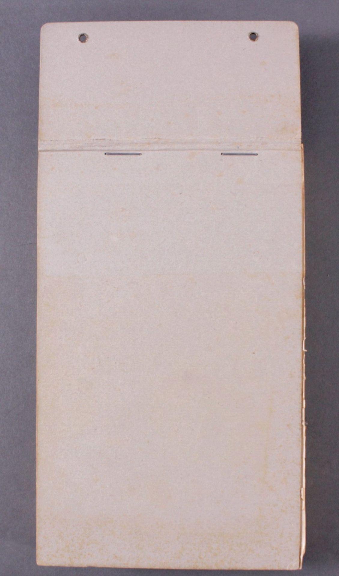 Abreißkalender, DAF Deutscher Werkkalender 1939Amtlicher Tagesabreißkalender der Deutschen - Bild 2 aus 2