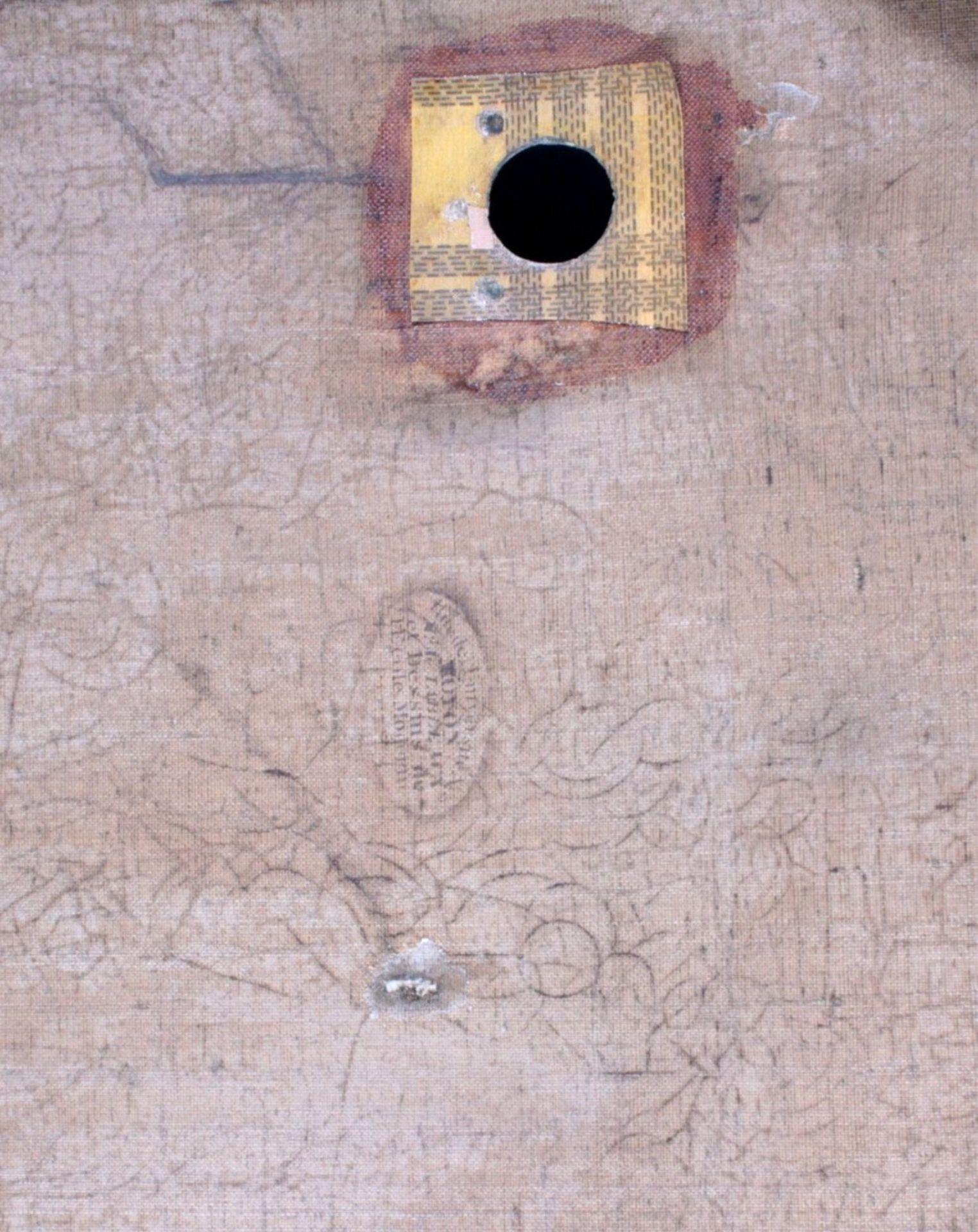 Bilderuhr mit Motiv des Straßburger MünstersFrankreich 19. Jh., vergoldeter Rahmenkasten mit - Bild 6 aus 6