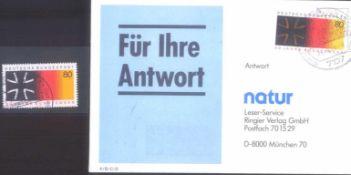 """Bund Nr. 1266, 1985 Farbfehler auf BriefIm Michel Spezial nicht erfasster Farbfehler. """"braunes"""""""