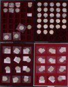 Sammlung 5 DM Gedenkmünzen 1952-1984Komplette Sammlung bis einschließlich 1986. Inklusive derTop