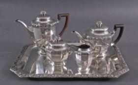 Kaffee- und Teekern, 5 teilig, Brückmann und SöhneSilbermanufaktur Brückmann und Söhne, Deckelknaufe