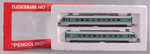 Fleischmann H0 Dieseltriebzug 4415 Pendolino der DBUnbespielt und in der Originalverpackung