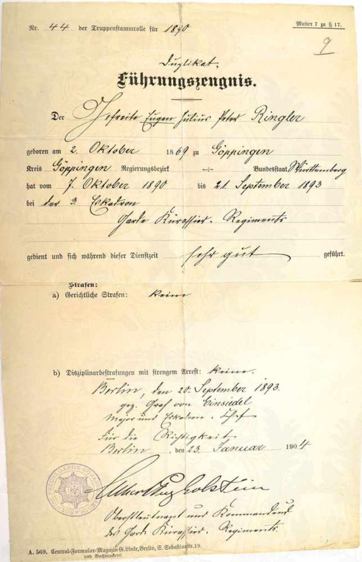SCHLESWIG HOLSTEIN SONDERBURG-GLÜCKSBURG, Prinz Albert zu, (Generalleutnant, 1863-1948, im WK b.