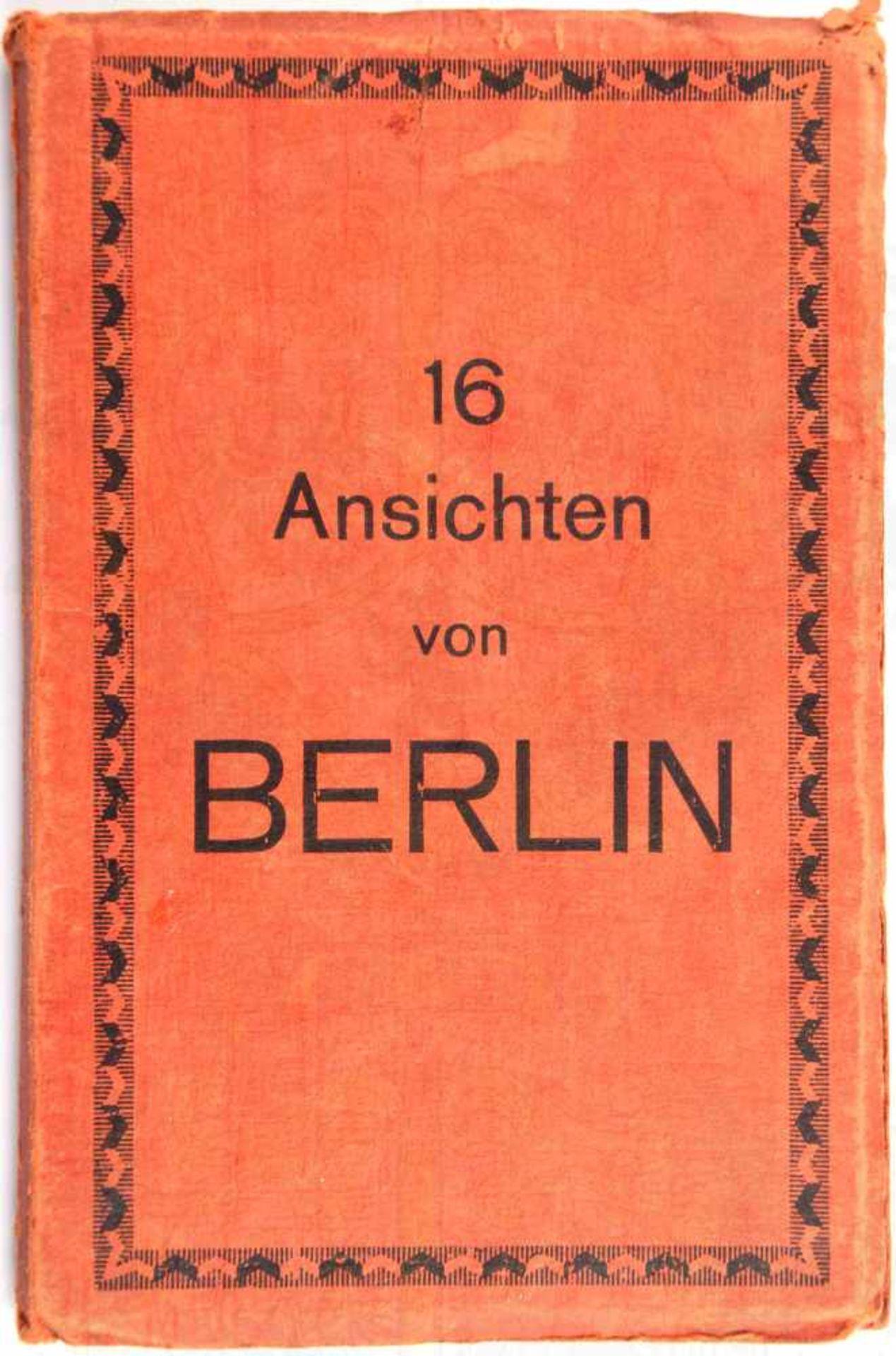 LEPORELLO BERLIN, 16 Lichtdruck-AK, um 1930, Reichskanzlei, Reichswehr vor dem Ehrenmal,
