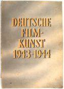 DEUTSCHE FILM-KUNST 1943-1944, Berlin, 108 S. tls. farb. illustr. Filmankündigungen, Ein Rudel