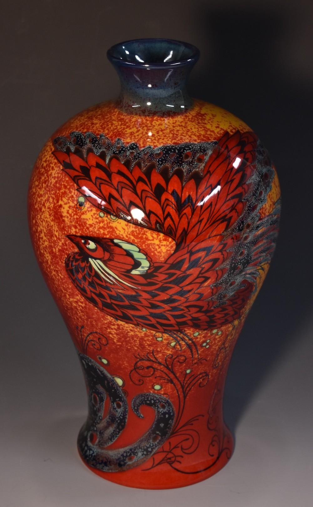 A royal doulton burslem artwares bird of paradise vase 129 lot 25a a royal doulton burslem artwares bird of paradise vase no reviewsmspy