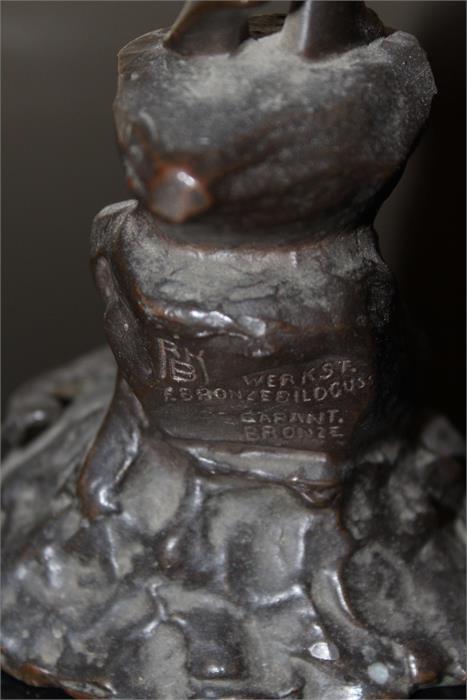 Lot 87 - Prof. Victor Heinrich Seifert (1870-1953) Austrian - signed - V.Seifert - A patinated Bronze study