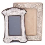 An Elizabeth II silver photograph frame, maker Keyford Frames Ltd, London,
