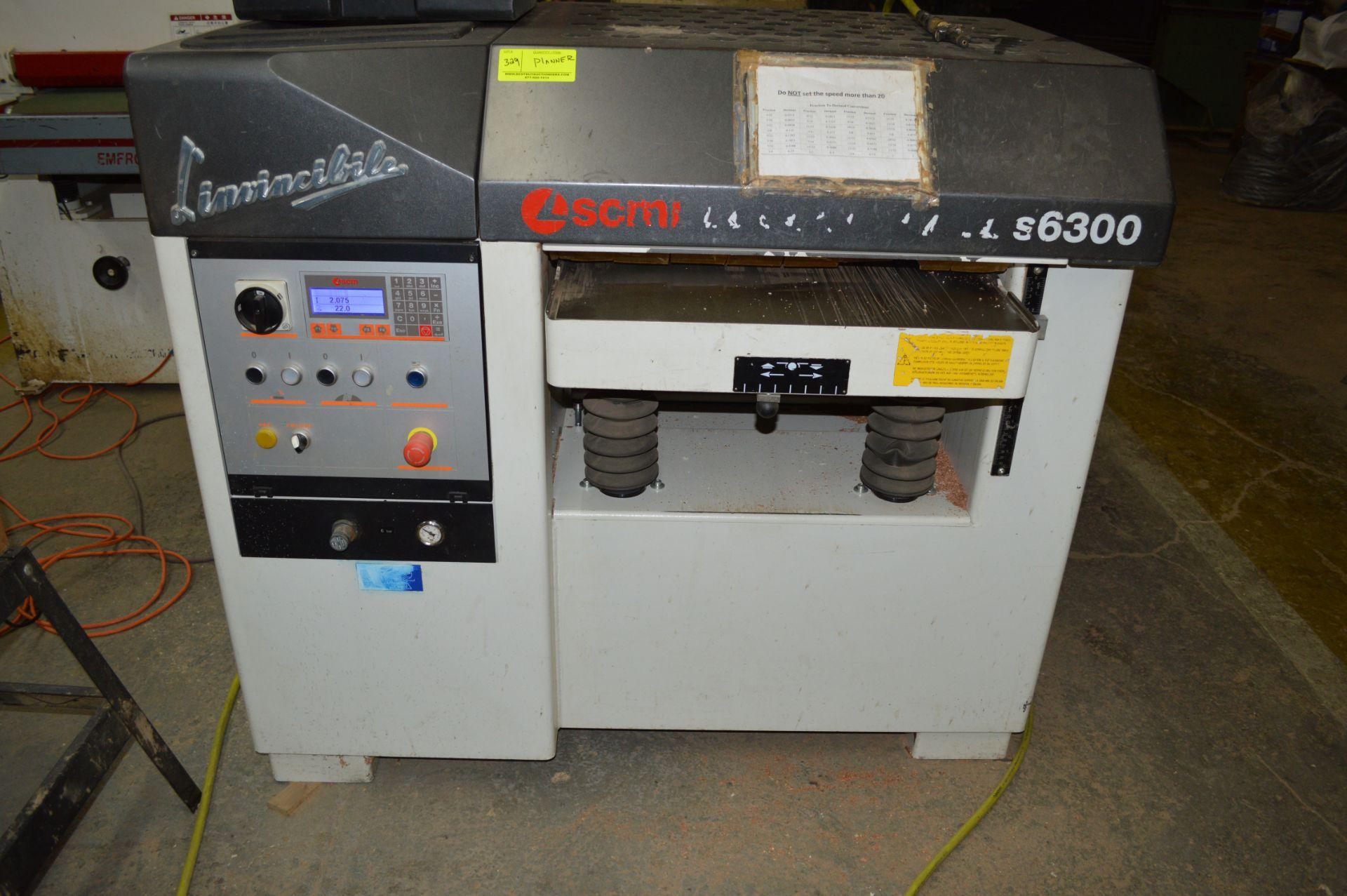 Lot 329 - L'INVINCILPLE COMPUTERIZED WOOD PLANER SCMI S6300