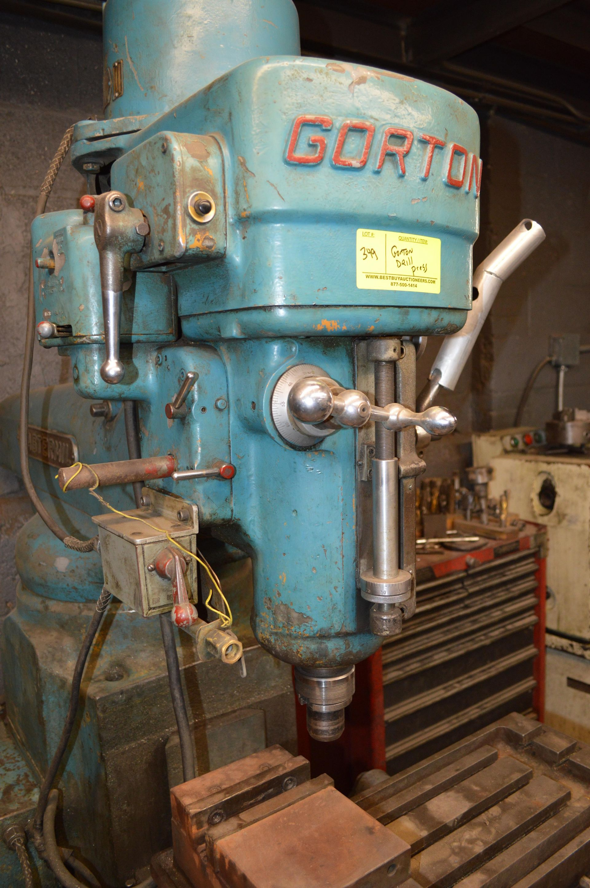 Lot 349 - GORTON DRILL PRESS