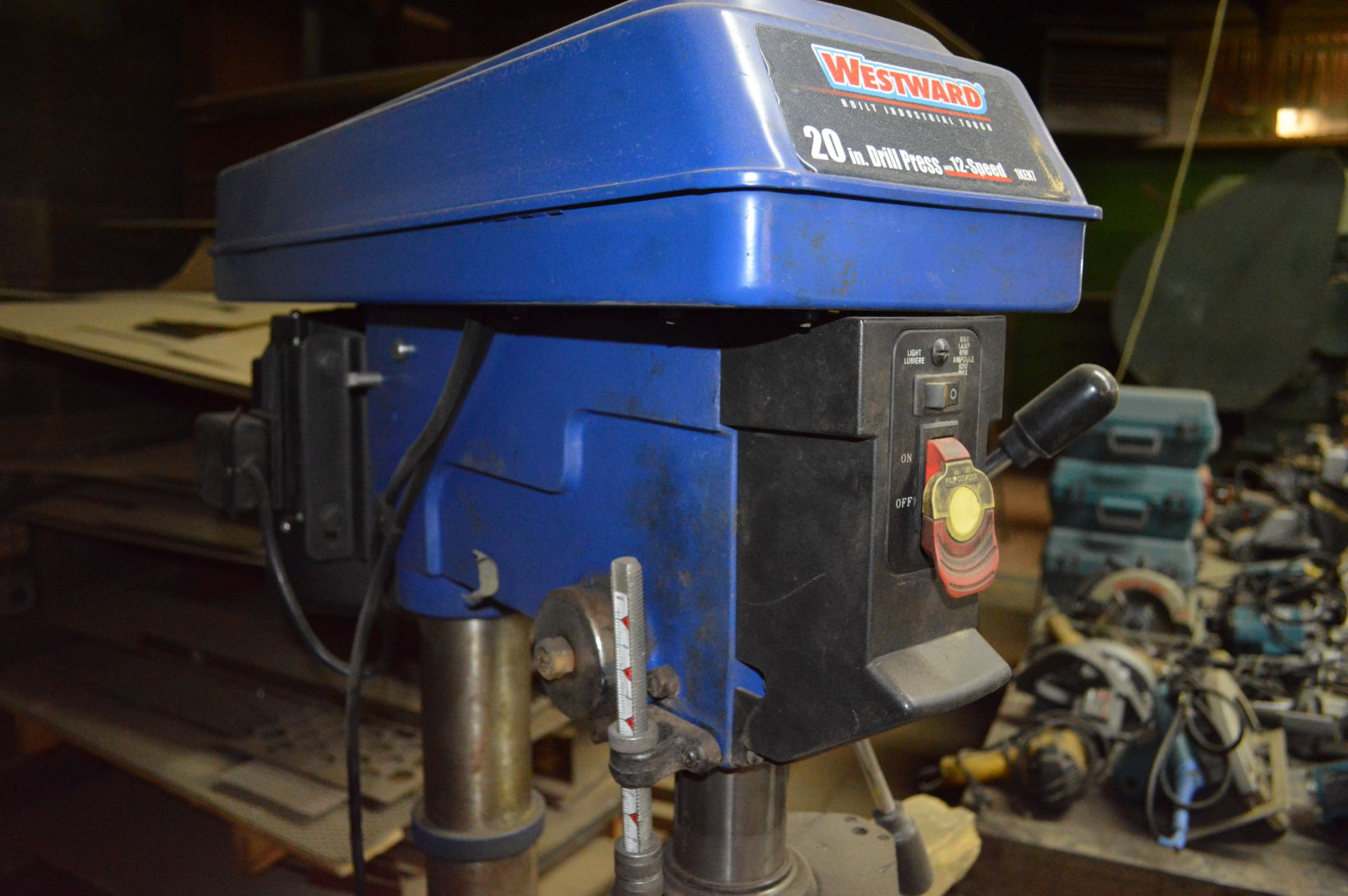 Lot 309 - WESTWOOD 20 INCH DRILL PRESS 12 SPEED WITH STAND