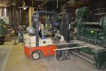 Lot 345 - NISSAN LP GAS POWERED FORK LIFT REMOVAL AFTER 1/1/19