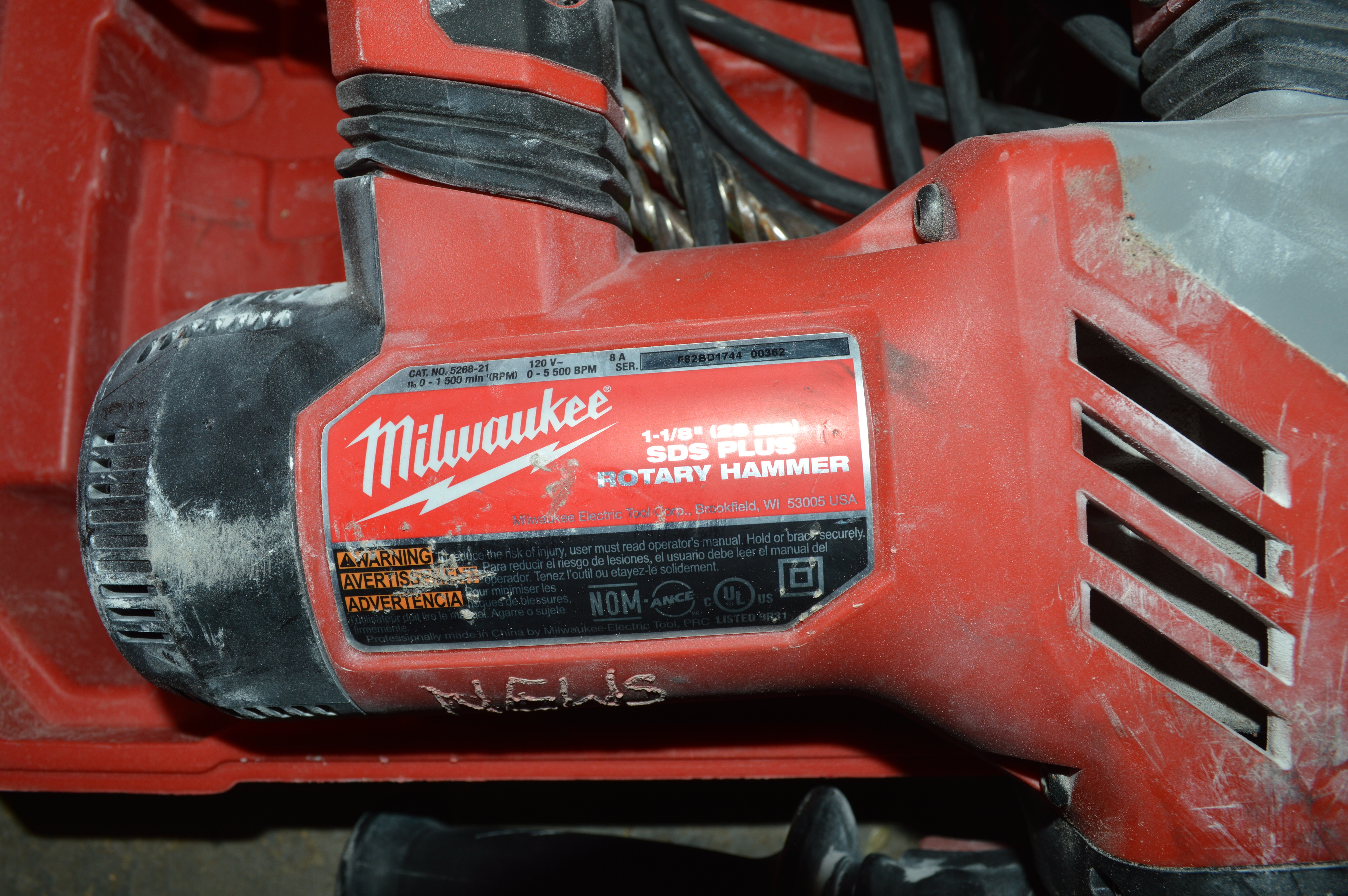 Lot 313 - MILWAUKEE HAMMER DRILL AND CASE