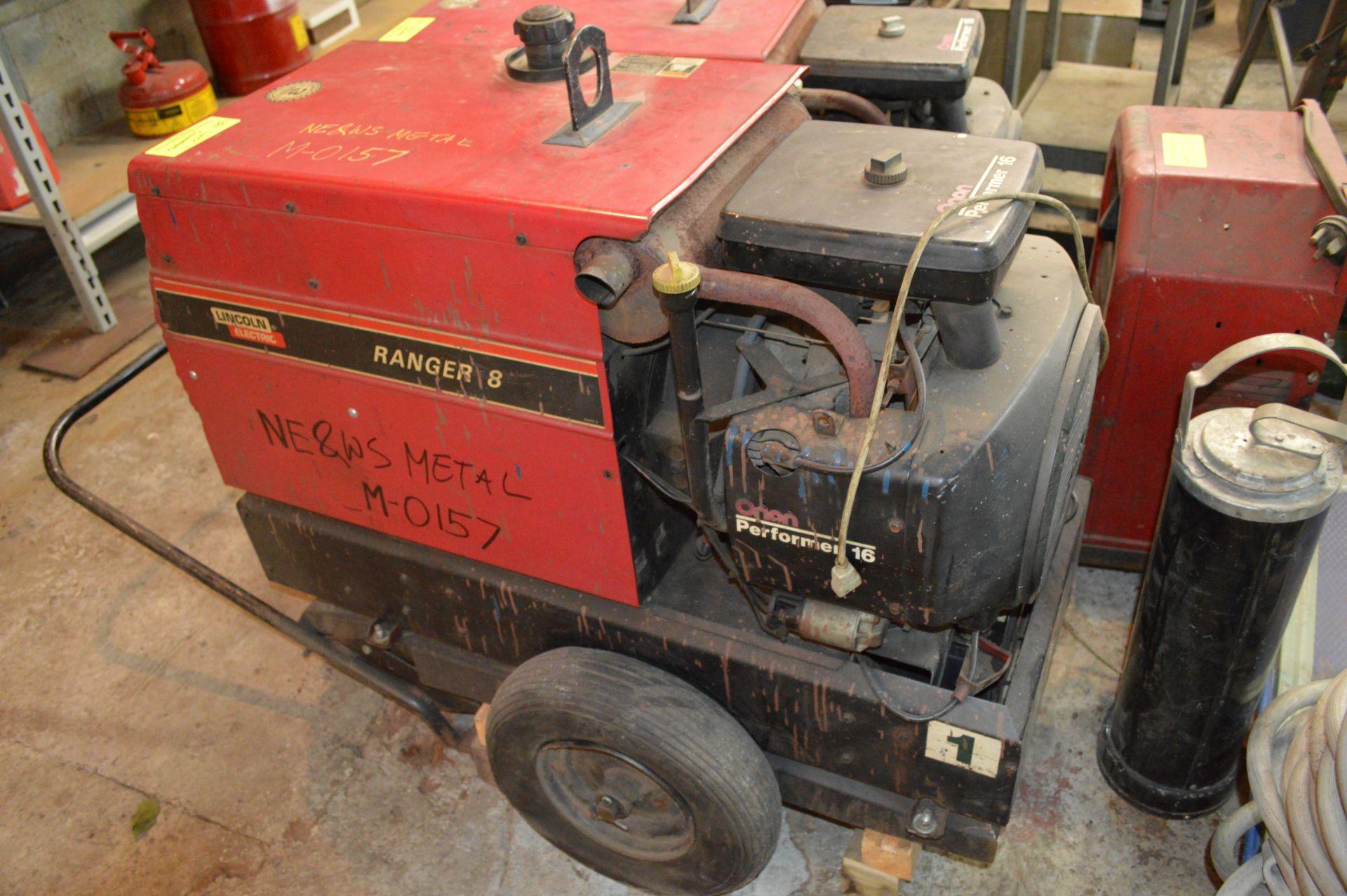 Lot 356 - LINCOLN BRAND GENERATOR RANGER 8