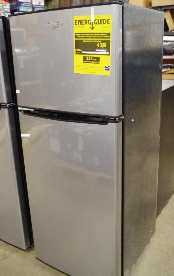 Unused Whirlpool 174 4 6 Cu Ft Top Mount Refrigerator With