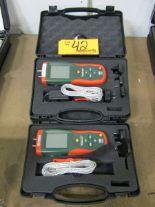 Lot 42 - Extech HD700 Digital Differential Pressure Manometers