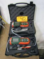 Lot 40 - Extech HD700 Digital Differential Pressure Manometers