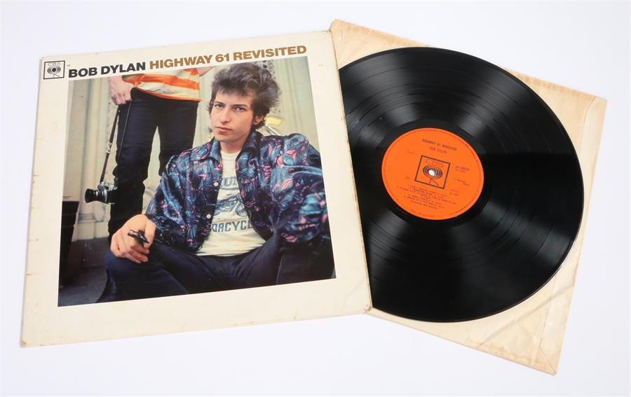Lot 60 - Bob Dylan - Highway 61 Revisited LP, CBS BPG 62572 A1/B1