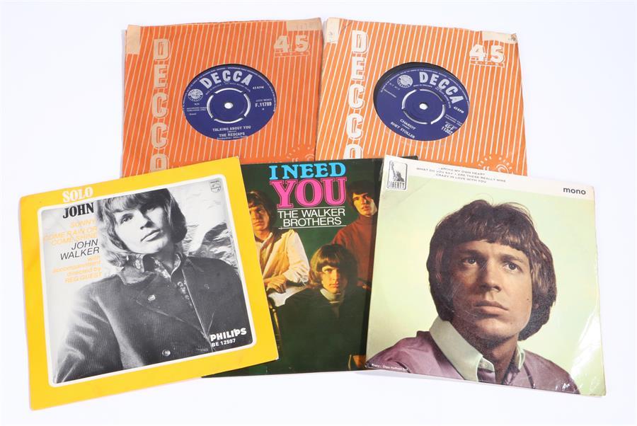 "Lot 59 - 5 x 1960s 7"" Singles & EPs, Scott Engel - I Broke My Own Heart ep pic sleeve, Liberty LEP 2261."